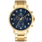 Tommy Hilfiger Daniel Chronograph Watch Gold