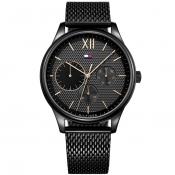 Tommy Hilfiger Damon Watch Black