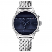 Tommy Hilfiger Icon Dual Watch Silver