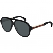 Gucci GG0463S Aviator Sunglasses Black
