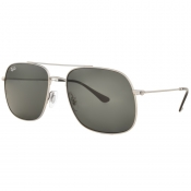 Ray Ban 3595 Aviator Sunglasses Silver