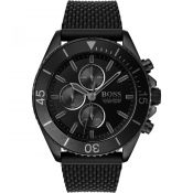 BOSS HUGO BOSS Ocean Edition Watch Black