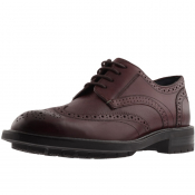 Ted Baker The Ruu Leather Brogues Burgundy
