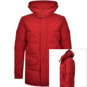 Belstaff Traverse Parka Down Jacket Red