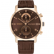 Tommy Hilfiger Kane Watch Brown