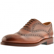 Oliver Sweeney Stoneygate Brogue Shoes Brown
