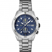 BOSS HUGO BOSS Vela Watch Silver