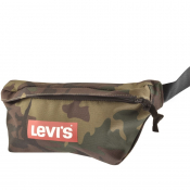 Levis Logo Camouflage Banana Waist Bag Brown