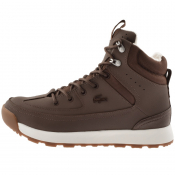 Lacoste Urban Breaker Boots Brown