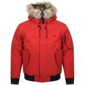Ralph Lauren Down Jacket Red