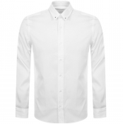 HUGO Emero Long Sleeve Shirt White