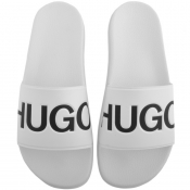 HUGO Match Sliders White