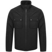 Barbour International City Quilted Jacket Black
