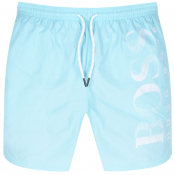 BOSS HUGO BOSS Octopus Swim Shorts Blue