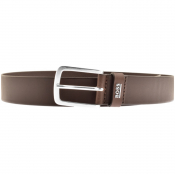 BOSS HUGO BOSS JOR Logo Belt Brown