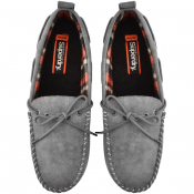 Superdry Clinton Moccasin Slippers Grey