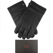 Ted Baker Ovine Leather Gloves Black