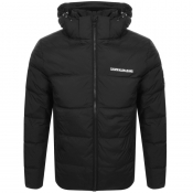 Calvin Klein Jeans Hooded Down Jacket Black