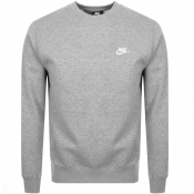 Nike Crew Neck Club Sweatshirt Grey