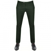 Ted Baker Seenchi Slim Fit Chinos Green