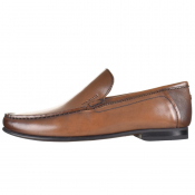 Ted Baker Lassil Leather Shoes Brown