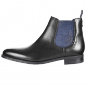 Ted Baker Travic Leather Boots Black