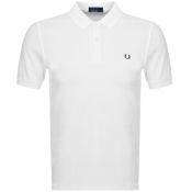 Fred Perry Polo T Shirt White