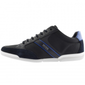 BOSS Athleisure Saturn Lowp Trainers Navy
