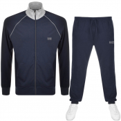BOSS Bodywear Lounge Tracksuit Navy