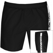 BOSS HUGO BOSS Dolphin Swim Shorts Black