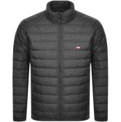 Levis Dehon Quilted Down Puffer Jacket Black