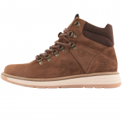 Barbour Letah Suede Boots Brown