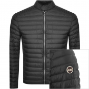 Colmar Biker Padded Down Jacket Black