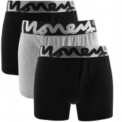 Money 3 Pack Chop Trunks Black