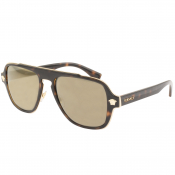 Versace Medusa Charm Sunglasses Brown
