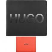HUGO Gradient Bifold Wallet Black