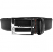 HUGO Gellot Leather Belt Black
