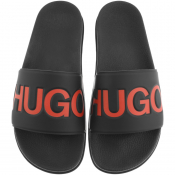 HUGO Match Sliders Black