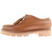 Grenson Bennet Derby Shoes Brown