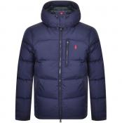Ralph Lauren Cap Down Jacket Navy