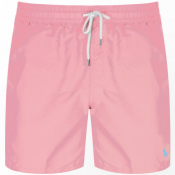 Ralph Lauren Traveller Swim Shorts Pink