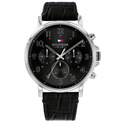 Tommy Hilfiger Daniel Chronograph Watch Black