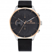 Tommy Hilfiger Chase Watch Black