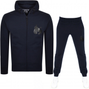 Money Sig Ape Hooded Tracksuit Navy