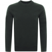 Fred Perry Crew Neck Knit Jumper Green