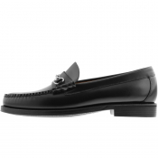 GH Bass Weejun Lincoln Leather Loafers Black