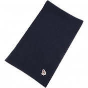 PS By Paul Smith Zebra Knit Scarf Navy