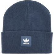 Adidas Originals Beanie Hat Blue