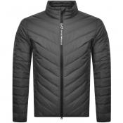 EA7 Emporio Armani Quilted Down Jacket Grey