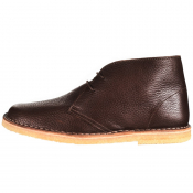 Pretty Green Desert Boots Brown